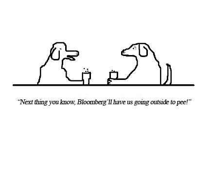 this faux new yorker cartoon is a remix