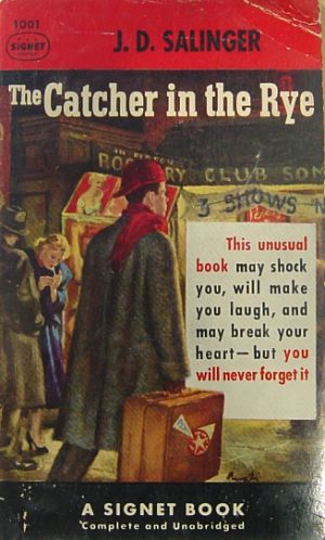 Image result for catcher in the rye banned