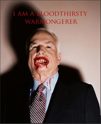 Image result for mccain vampire