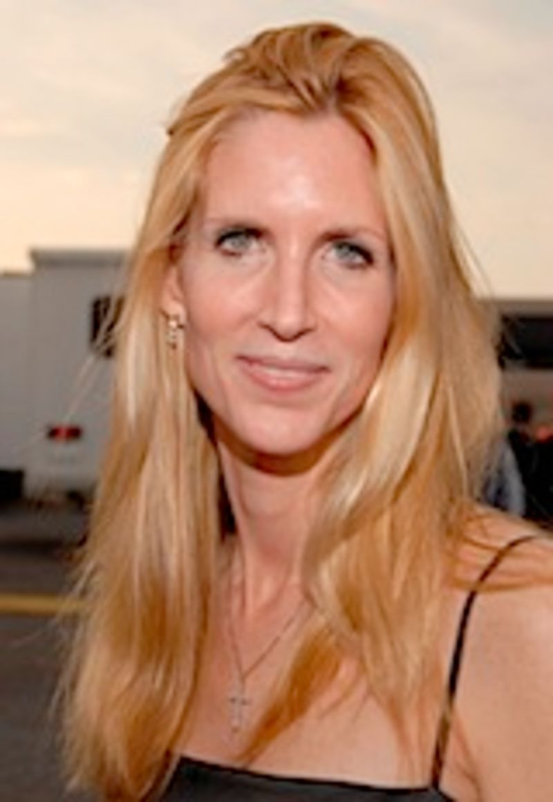Ann Coulter\'s Mouth Wired Shut In Time For Thanksgiving