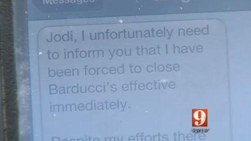 Florida Restaurant Owner Fires Entire Staff via Text Message