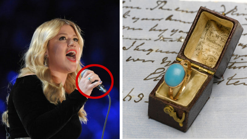England Prepared to Nuke Kelly Clarkson For Buying Jane Austen's Ring