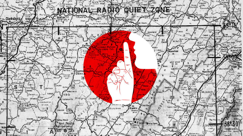 radio earth distant land