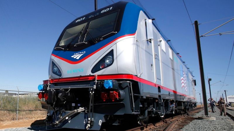 """Man Survives Being Hit """"Straight-On"""" by 110 MPH Amtrak Train"""