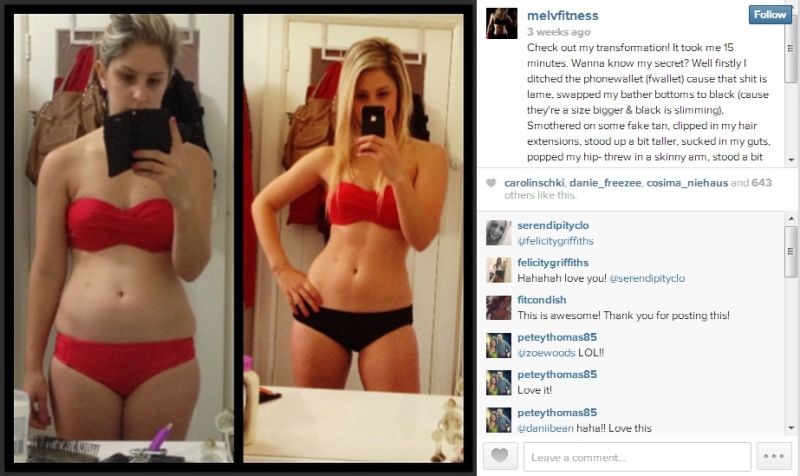 Personal Trainer Exposes 'Before & After' Secrets on Instagram