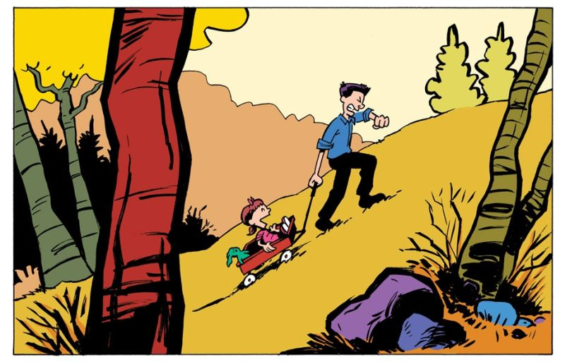 Inspirational Bill Watterson Speech Turned Into Watterson-Style Comic