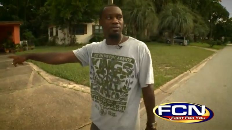 Florida Man Literally Arrested for Walking While Black