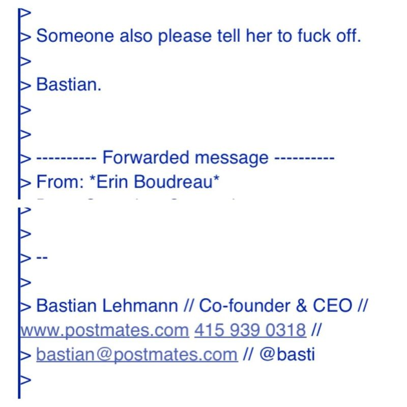Startup CEO to Customer: