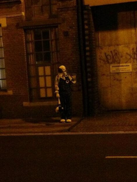 Worst Fears Comes True for Town Terrorized by 'Spooky Clown&#39