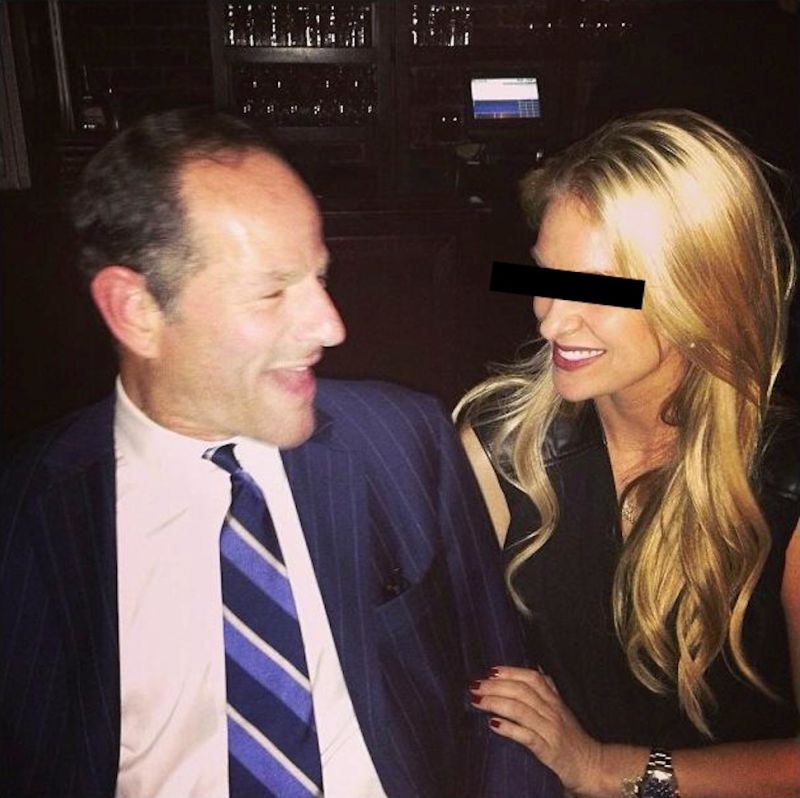 Who is eliot spitzer dating