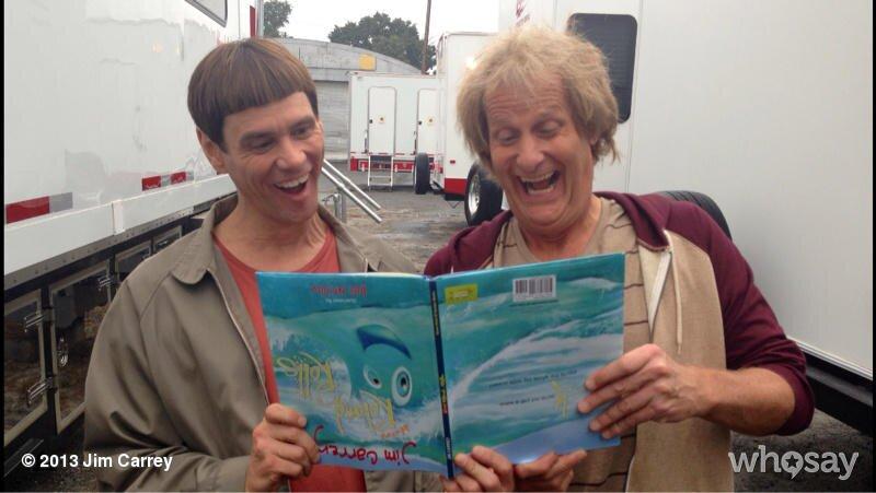 Jim Carrey and Jeff Daniels Reunite on the Set of <em>Dumb and ...