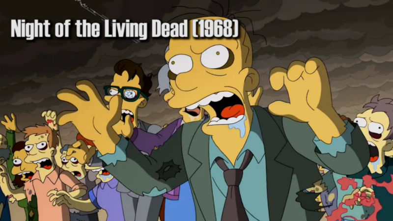 Here're All the Film Allusions in Guillermo Del Toro's <em>Simpsons</em> Opening