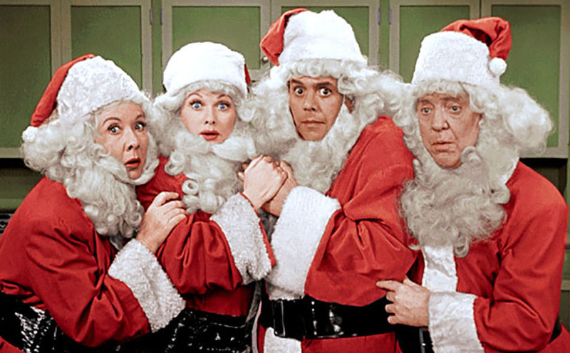 CBS' Christmas Gift To You Is Two <i>I Love Lucy</i