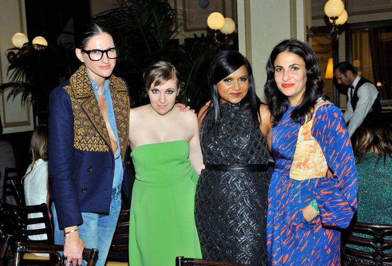 Lena Dunham Accidentally Interviews Herself Instead Of Mindy Kaling