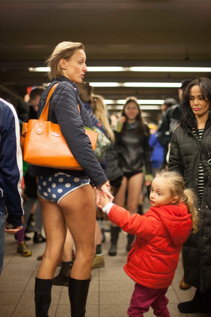 Progressive Dodge >> Butt Germs: No Pants Subway Ride