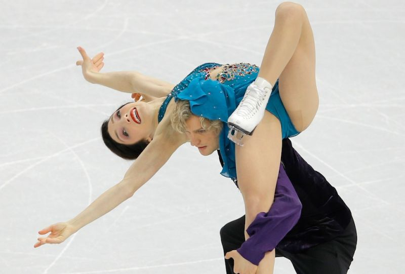 That's Figure skaters boob spam