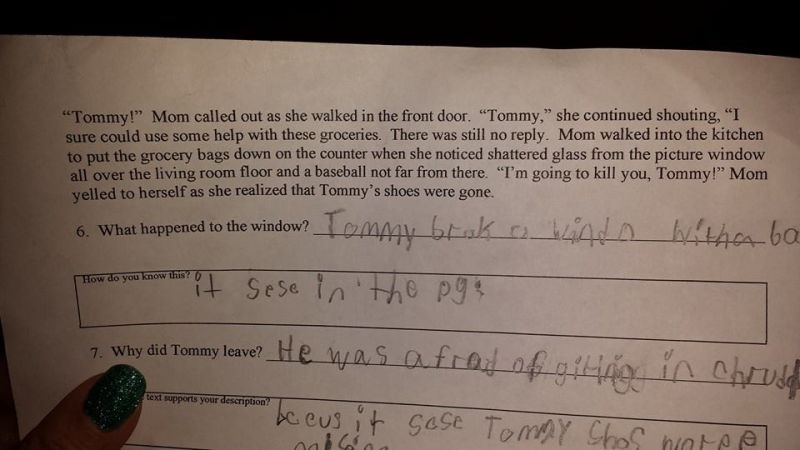 Texas homework