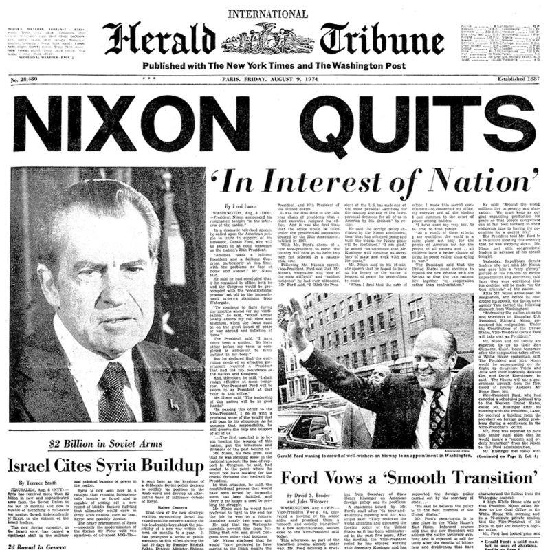 Impeachment Of Nixon Today, We Are All Tric...