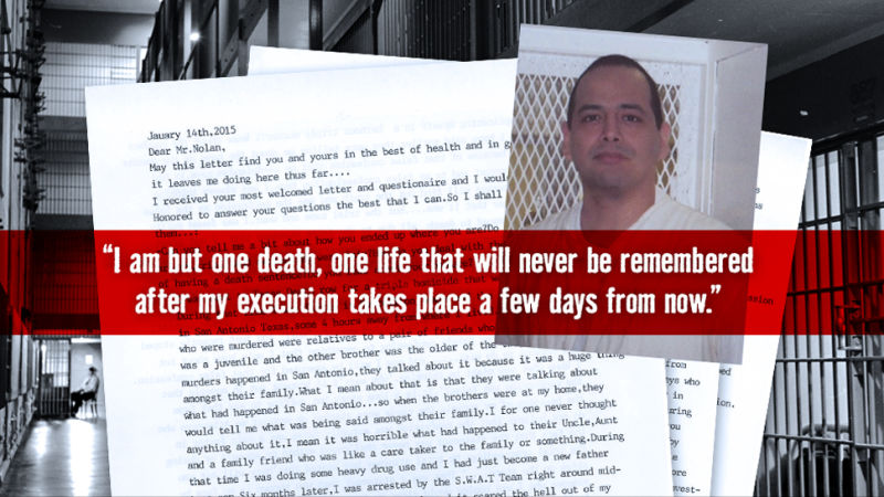 death row essay I would argue that the death penalty is legalized murder for two wrongs can never make a right people make mistakes, we are falible by nature and by design so if someone kills another, the killer's death will not bring the murdered person back.