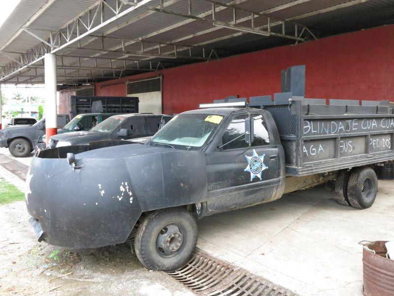 Mexican drug war vigilantes 39 homemade mad max vehicles are pretty boss