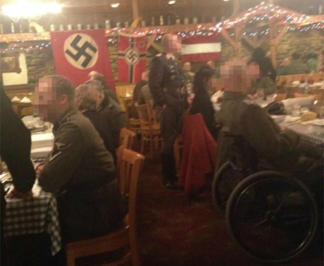 Fancy Restaurant Background fancy midwestern restaurant hosts nazi-themed dinner party