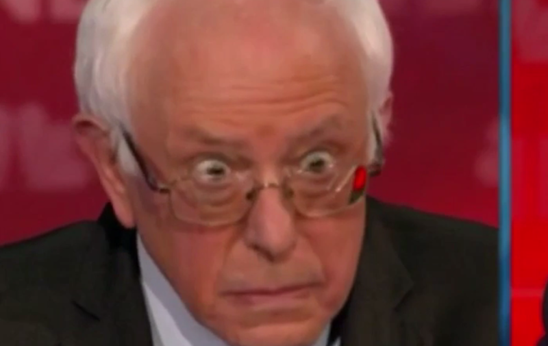 Bernie Sanders Brought His Finest Facial Expressions to ...