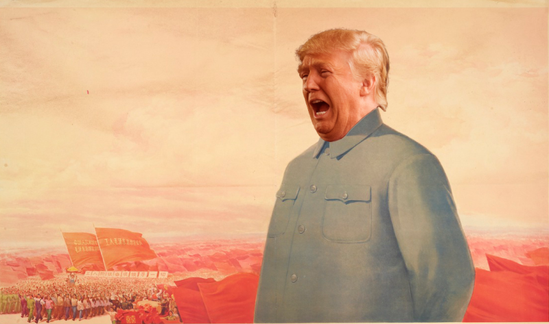 Resultado de imagem para trump e a china charge