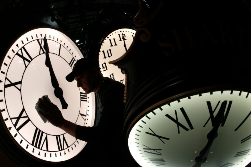 Spring Forward Set Your Clocks Ahead An Hour Tonight For
