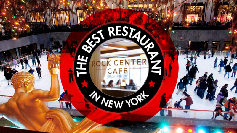 The best restaurant in new york is the rockefeller center for Top of the rock new york restaurant