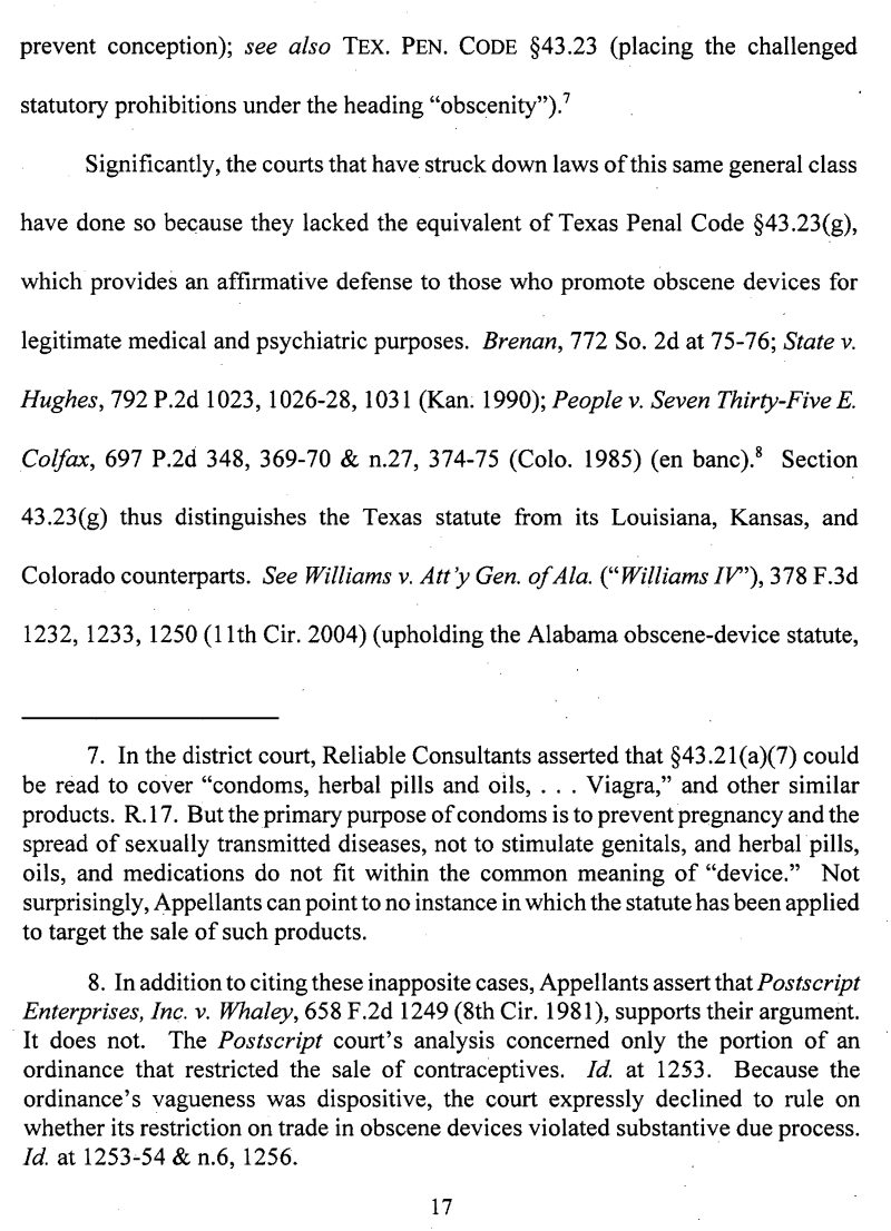 here is the court filing in which ted cruz defended a ban on dildos