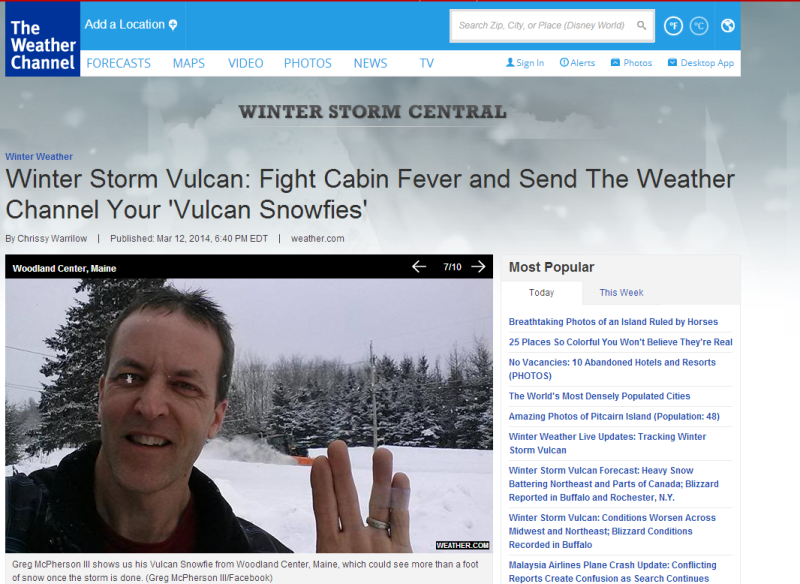The Weather Channel Wants Your