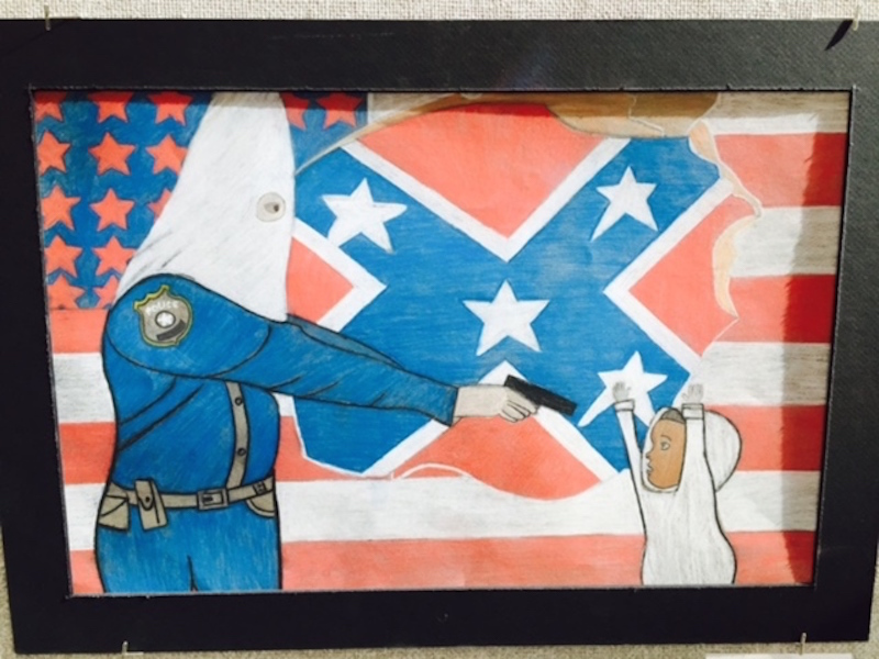Denver Police Really Do Not Like This Teen's Art For Some Reason