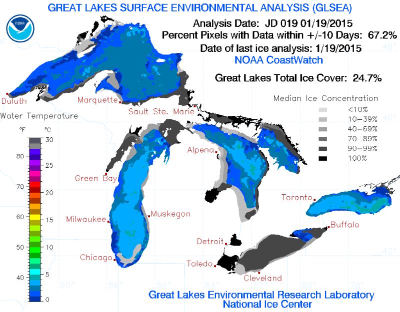 Lake Erie Is Frozen