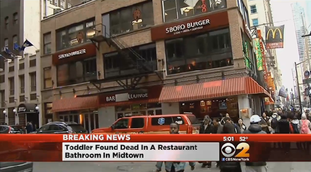 Woman Arrested for Killing a Toddler in a Fast Food Restaurant Bathroom