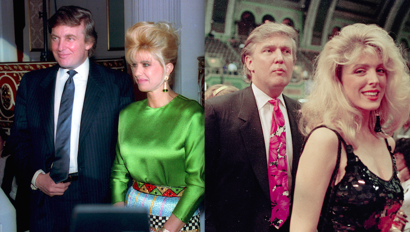 Remember When Donald Trump's Wife and Donald Trump's ...