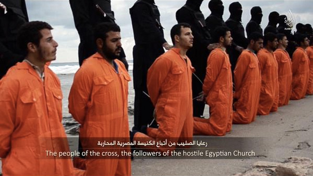 Image result for Isis mass execution Libya