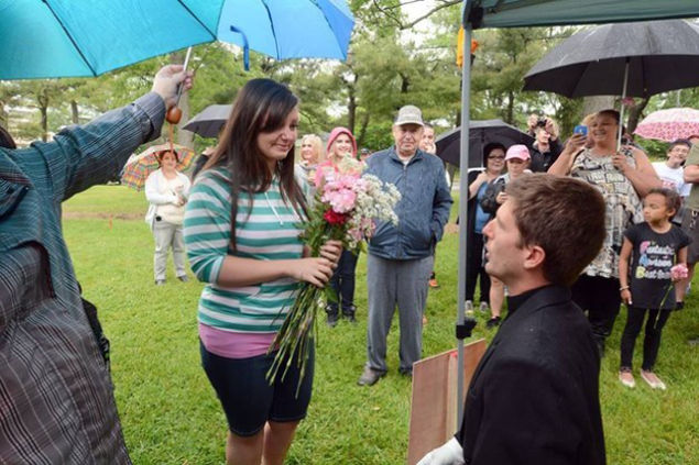 Reporters Investigation Leads To Her Marriage Proposal