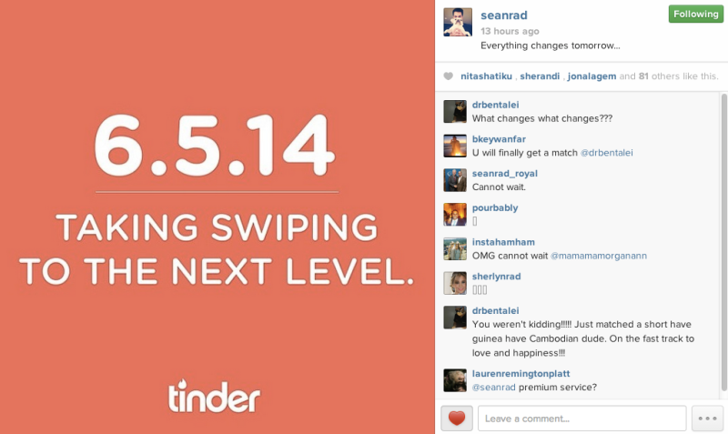 Tinder Improves on Snapchat By Giving You 24 Hours to
