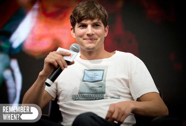 Remember When Ashton Kutcher Mistook Slain Girlfriend's Blood for Wine?
