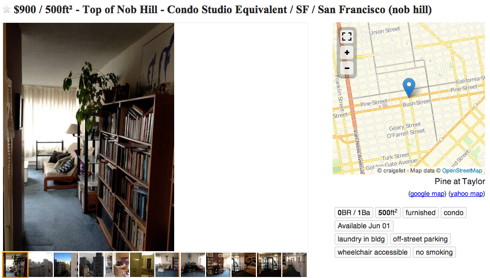 this is what passes for a craigslist rental in san francisco. Black Bedroom Furniture Sets. Home Design Ideas