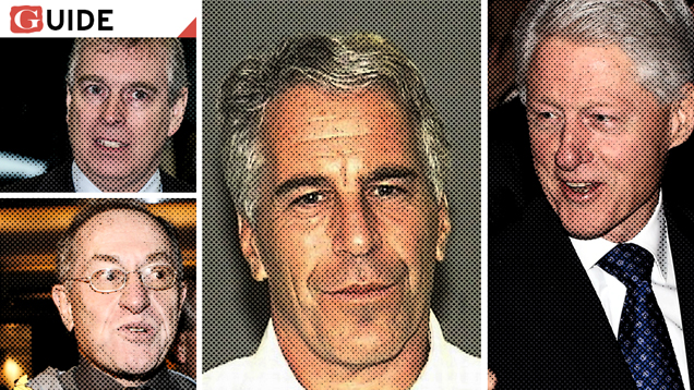 Jeffrey Epstein and friends