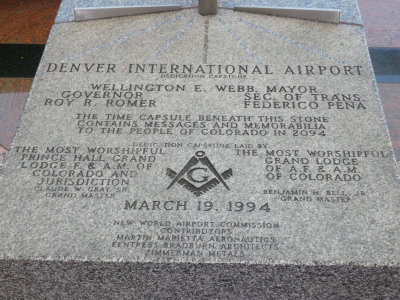 The denver airport will be a nazi paradise after our nuclear holocaust new world airport commission malvernweather Gallery
