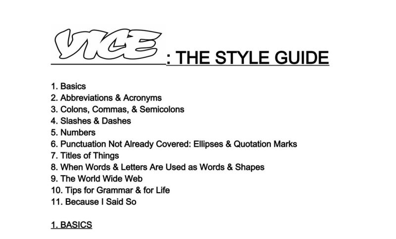 writing styles guide Articles written for publication on a list apart use an informal, conversational tone,  in general, we use us english according to the chicago manual of style .