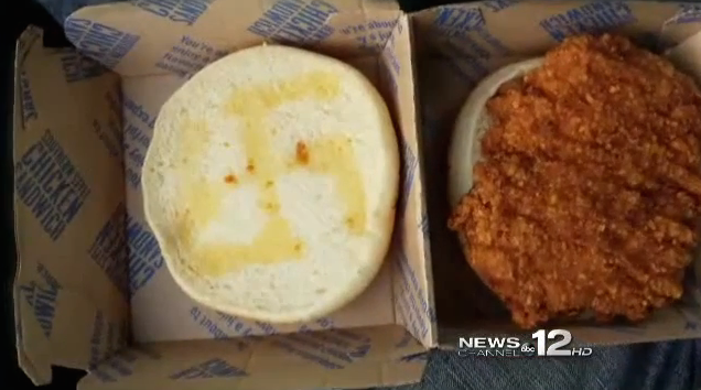 Local News Station is All Over McDonalds Chicken Sandwich Controversy
