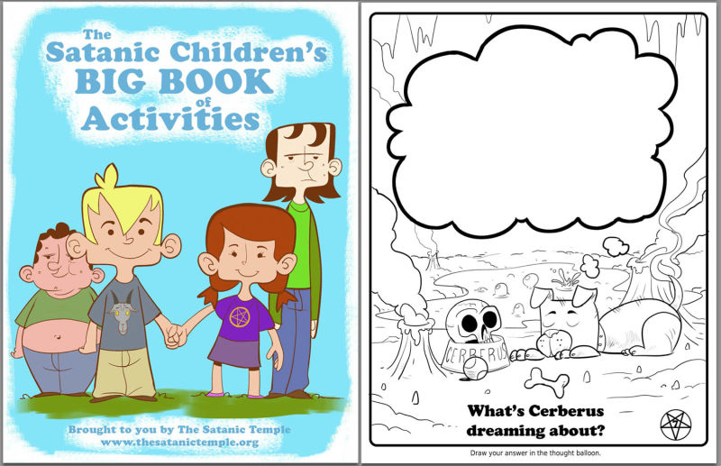 Satanists Made A Coloring Book For Public Schoolkids And It S Not Bad
