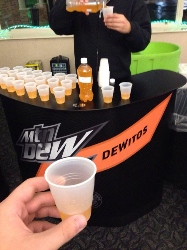 Pepsi Tests Doritos-Flavored Mountain Dew on Innocent Public