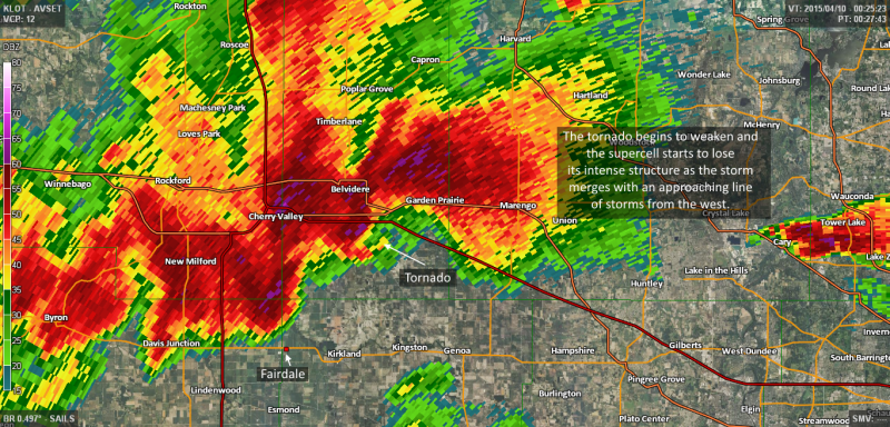 Here S An In Depth Look At The Tornado That Destroyed Fairdale Illinois