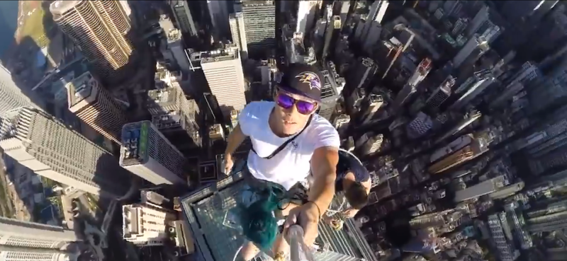 A New Death Defying Trend Has Emerged Across The Globe Where Daredevils Have Decided Selfies At Brunch And Girls Night Are No Longer Cool Enough