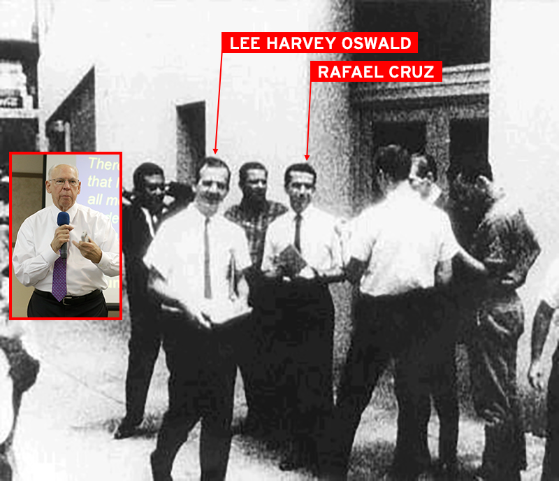 Image result for picture of rafael cruz and lee harvey oswald