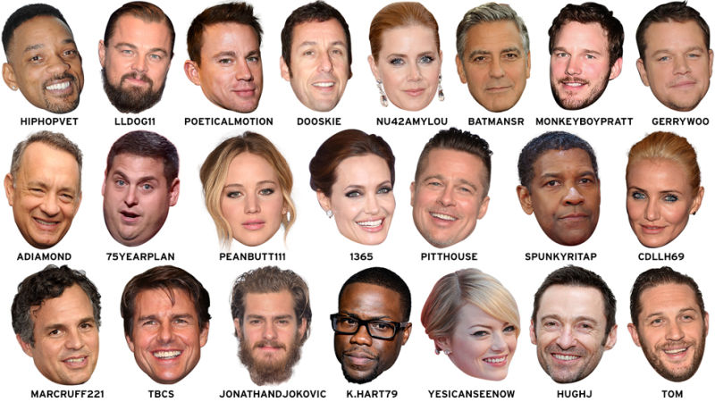 celebrity leaked list